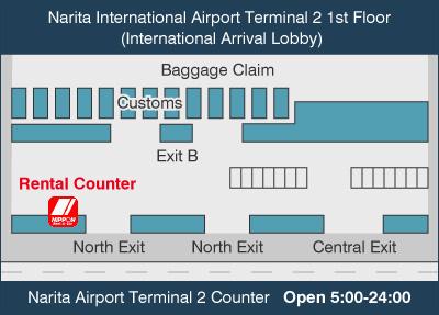 Nippon Car Rental Narita Airport
