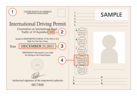 Driver S License Requirements Nippon Rent A Car